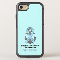 Prostate Cancer Anchor of Hope OtterBox Symmetry iPhone 8/7 Case