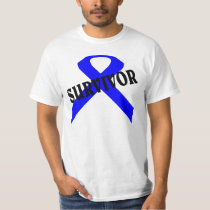 Prostate cancer and child abuse survivor shirt. T-Shirt