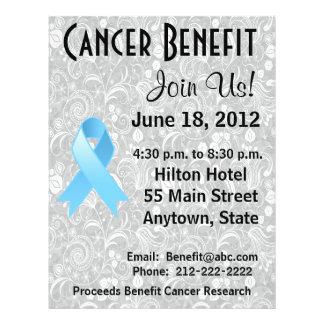 Prostate Cancer Awareness Benefit  Floral Flyer