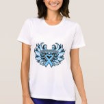 Prostate Cancer Awareness Heart Wings.png T Shirt