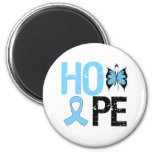 Prostate Cancer Awareness Hope 2 Inch Round Magnet