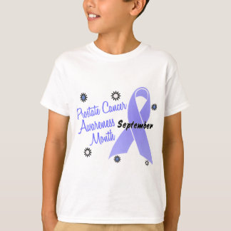 Prostate Cancer Awareness Month Flowers 1 T-Shirt