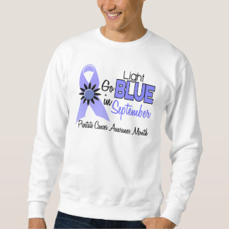 Prostate Cancer Awareness Month Flowers 2 Pull Over Sweatshirt
