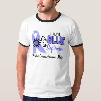 Prostate Cancer Awareness Month Flowers 2 Tshirts