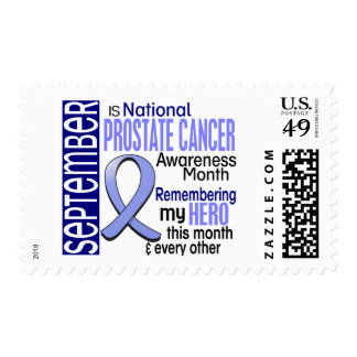 Prostate Cancer Awareness Month Ribbon I2 1.2 Postage