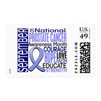 Prostate Cancer Awareness Month Ribbon I2 1.3 Stamps