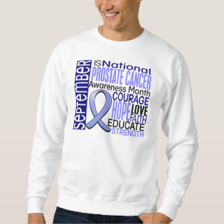 Prostate Cancer Awareness Month Ribbon I2 1.3 Sweatshirt