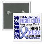 Prostate Cancer Awareness Month Ribbon I2 1.5 Pins
