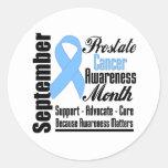Prostate  Cancer Awareness Month Ribbon v2 Sticker