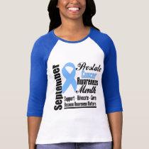 Prostate  Cancer Awareness Month Ribbon v2 T-Shirt