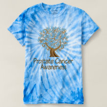 Prostate Cancer Awareness Tree Tee T-shirt