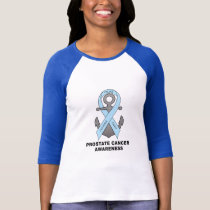 Prostate Cancer Awareness with Anchor T-Shirt