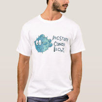 Prostate Cancer Blows T-Shirt