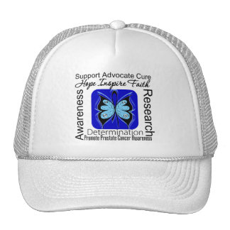 Prostate Cancer Butterfly Inspirations Mesh Hats