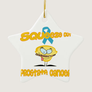 Prostate Cancer Ceramic Ornament