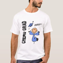 Prostate Cancer CHEMO GRAD 1 T-Shirt