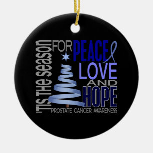 prostate cancer ornaments \u0026 keepsake ornaments zazzleprostate cancer christmas 1 ornaments