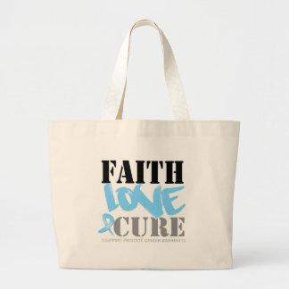 Prostate Cancer Faith Love Cure Bag