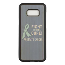 Prostate Cancer: Fight for the Cure! Carved Samsung Galaxy S8  Case