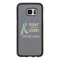 Prostate Cancer: Fight for the Cure! Wood Samsung Galaxy S7 Edge Case