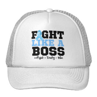 Prostate Cancer Fight Like a Boss Mesh Hats