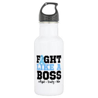 Prostate Cancer Fight Like a Boss 18oz Water Bottle