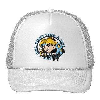 Prostate Cancer Fight Like A Girl Attitude Trucker Hat