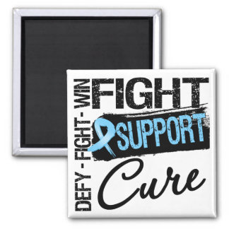 Prostate Cancer Fight Support Cure Fridge Magnets