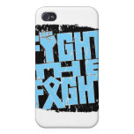 Prostate Cancer Fight The Fight Cover For iPhone 4