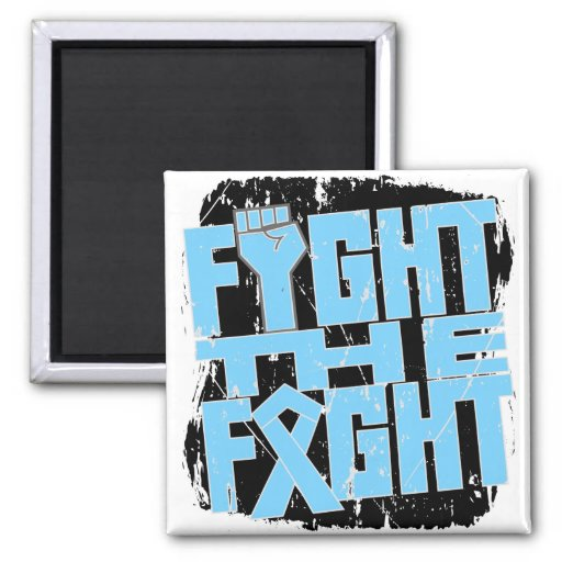 Prostate Cancer Fight The Fight Refrigerator Magnets