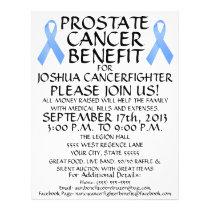 Prostate Cancer Fighter Benefit Flyer