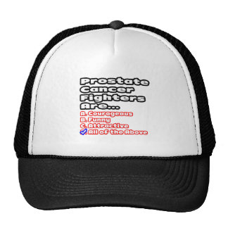 Prostate Cancer Fighter Quiz Mesh Hats