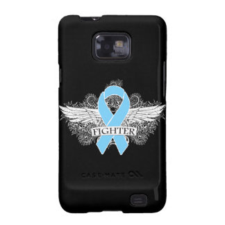 Prostate Cancer Fighter Wings Galaxy SII Cases