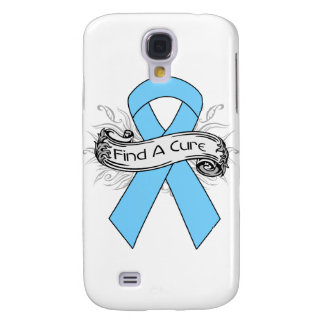 Prostate Cancer Find A Cure Ribbon Galaxy S4 Cases