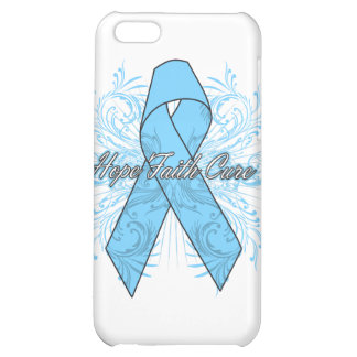 Prostate Cancer Flourish Hope Faith Cure iPhone 5C Cases