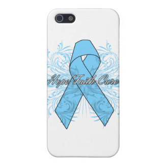 Prostate Cancer Flourish Hope Faith Cure Cover For iPhone 5