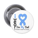Prostate Cancer Heart Ribbon DAD Buttons