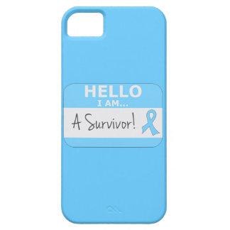 Prostate Cancer Hello I Am A Survivor iPhone 5 Case
