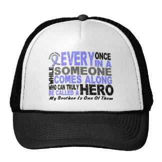 Prostate Cancer HERO COMES ALONG 1 Brother Trucker Hat