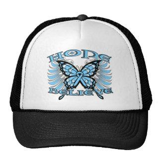 Prostate Cancer Hope Believe Butterfly Trucker Hat
