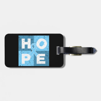 Prostate Cancer HOPE Cube Tags For Luggage