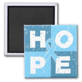 Prostate Cancer HOPE Cube Refrigerator Magnet