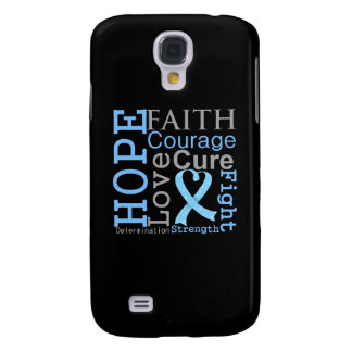 Prostate Cancer Hope Faith Motto Galaxy S4 Case