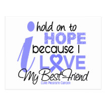 Prostate Cancer Hope for My Best Friend Postcard