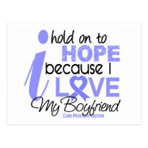 Prostate Cancer Hope for My Boyfriend Postcard