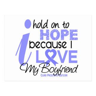 Prostate Cancer Hope for My Boyfriend Postcard