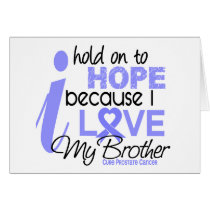 Prostate Cancer Hope for My Brother