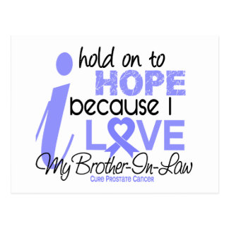 Prostate Cancer Hope for My Brother-In-Law Postcard
