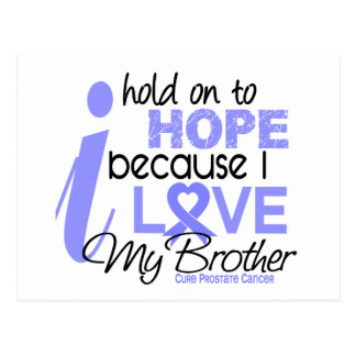 Prostate Cancer Hope for My Brother Postcard