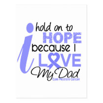 Prostate Cancer Hope for My Dad Postcard